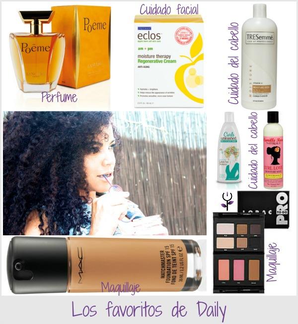 Los cosméticos de Daily Curlz