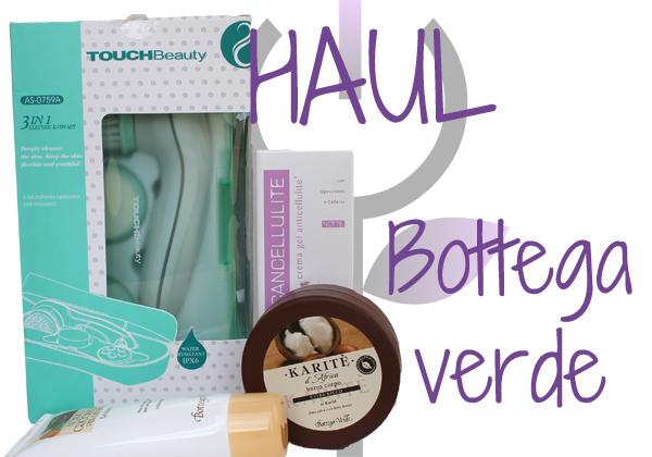 compras de cosméticos Bottega Verde