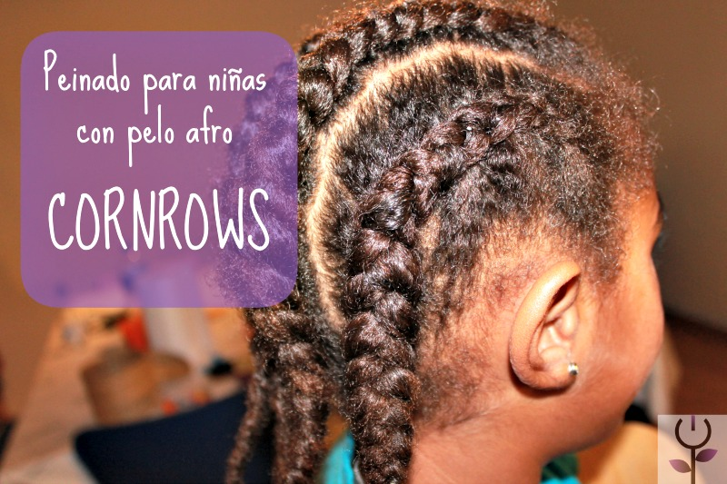 Peinado para niñas con pelo afro