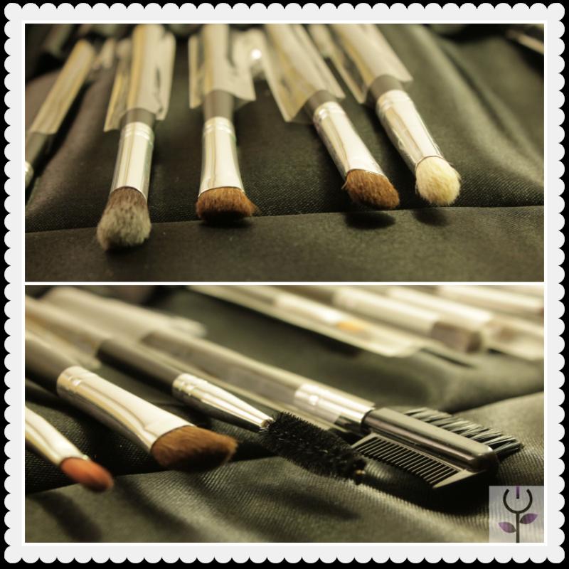 Brochas de maquillaje Lavanda Accs. para ojos