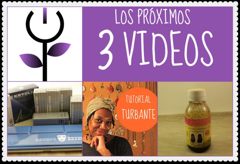 Los tres próximos vídeos en Negra Flor TV
