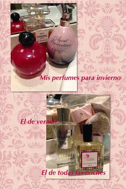 Los perfumes favoritos de Julia H. Valois