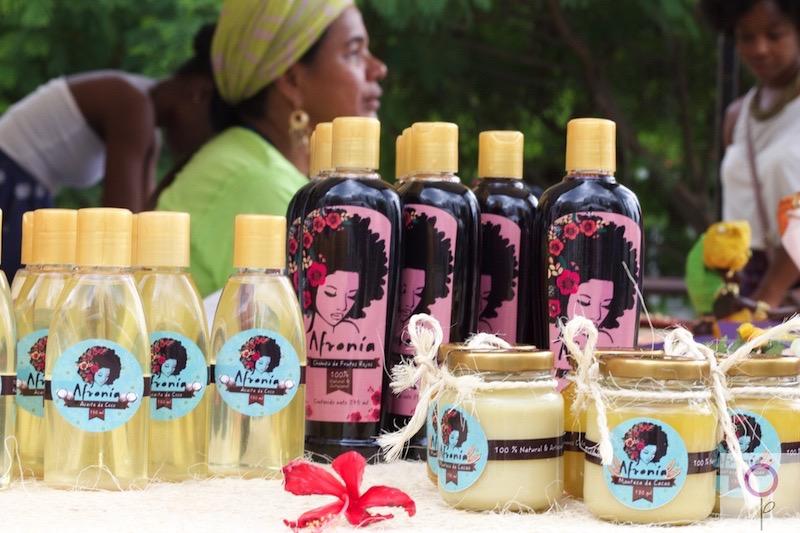Productos Afronía, para el cabello afro.