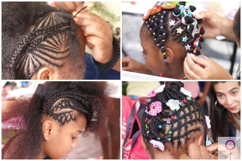 Concurso de peinados afro.