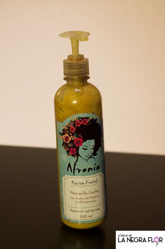 Mascarilla Pasión Frutal, de Afronía
