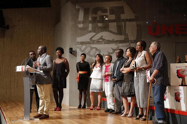 Afrokairos, Premio Afrosocialista al Compromiso.