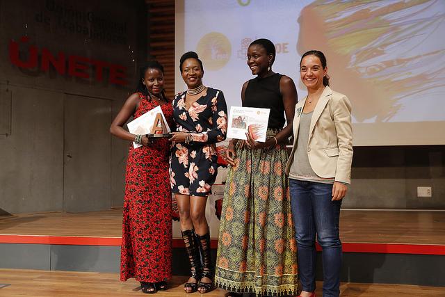 Tida Coly, Premio Trayectoria en la Gala de Premios Afrosocialistas 2016