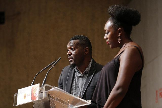 Presentadores de la VI Gala de Premios Afrosocialistas