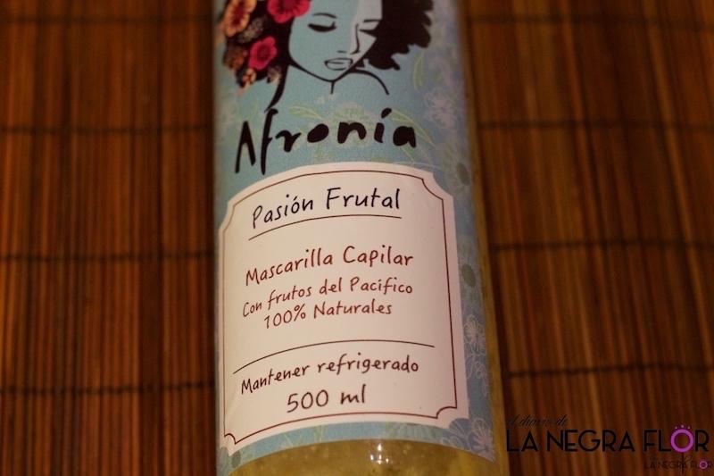 Mascarila Pasión Frutal de Afronía