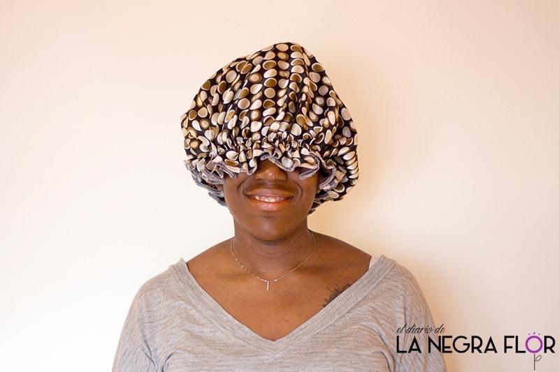 Cómo cuidar el pelo afro por la noche.