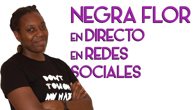 Negra Flor en directo.